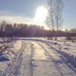 Февральское солнце