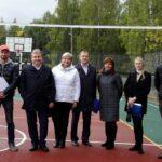 Открыта новая спортивная площадка