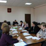 На заседании комиссии обсудили вопросы правонарушений и их профилактики