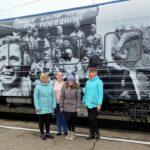 Жители Смоленского района посетили «Поезд Победы»